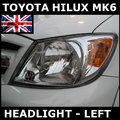 View Item Toyota Hilux Mk6 RHD headlight Left OE